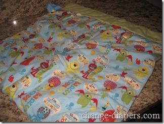 Nikki's Little House Stroller Blanket