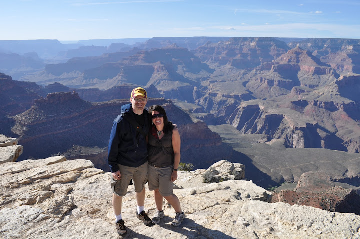 1/300 Tara & Tim at the Grand Canyon April 2010