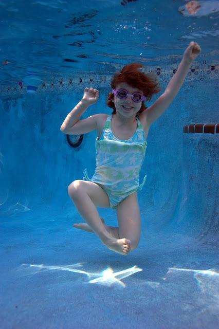 Sophia in the pool, Singer Island