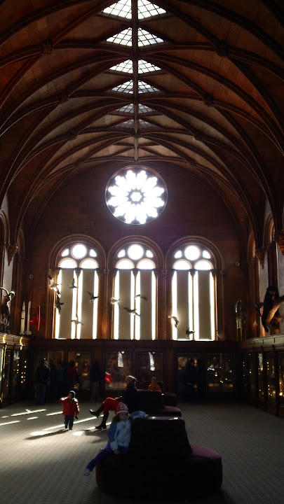 West Wing of The Smithsonian Castle