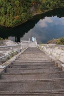 インクラインと見せかけて急な階段