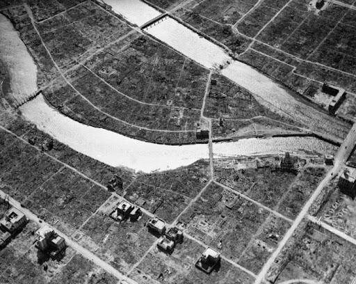 HIROSHIMA DESTRUCTION 1945