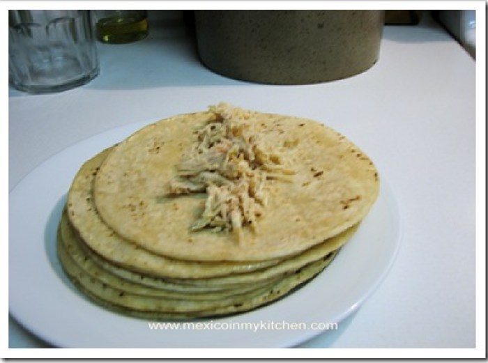 green enchiladas verdes mexican recipe