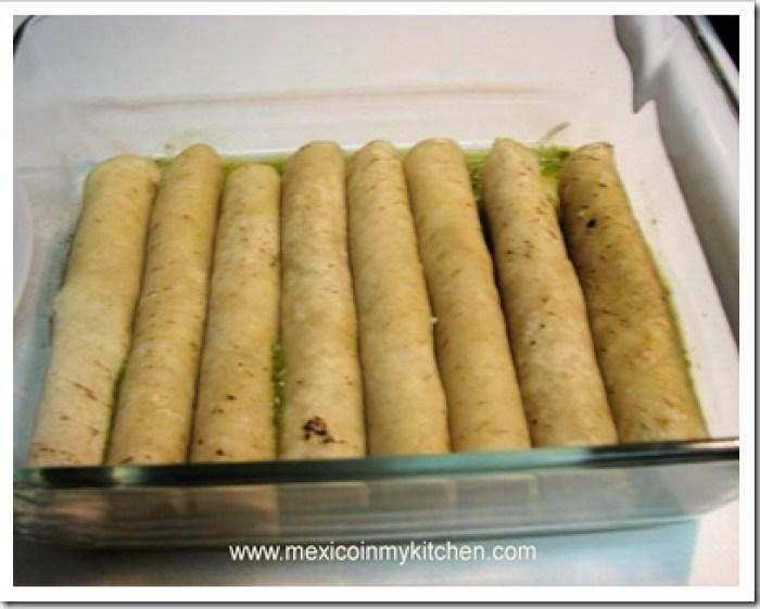 green enchiladas verdes recipe mexican