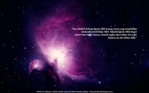 6 - putus asa dari rahmat Allah