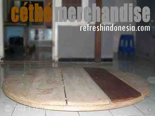 Cethe Funiture | On Table 4 | Kerajinan Tangan Khas Indonesia | Unique Funiture Motif from Cethe Merchandise Refresh Indonesia