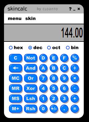 [下載軟體]計算機-可轉換10.16.8.2進位制   計算0123456789
