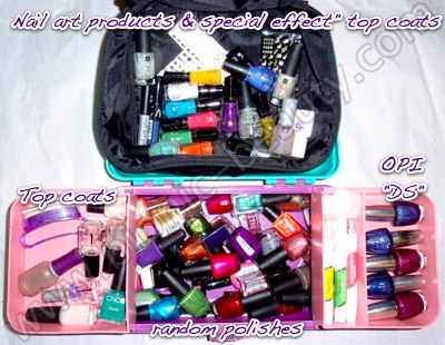Nail Polish Storage Tote To Bend Light