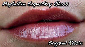 Maybelline SuperStay Lipgloss in 770 Sugared Raisin