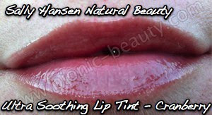 Sally Hansen Natural Beauty Ultra Soothing Lip Tint in Cranberry