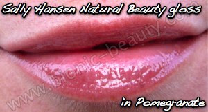 Sally Hansen Natural Beauty Ultra Soothing Lip Tint gloss in Pomegranate
