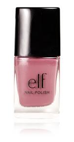 elf cosmetics spring nail polish in mod mauve