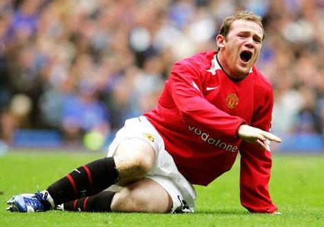 Jenis - jenis Cedera Umum Dalam Sepakbola..!