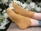Amber Waves Slipper Socks