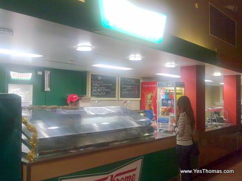 """中央車站的店家外觀,打洋前順利完成 """"搶救甜甜圈大作戰"""""""
