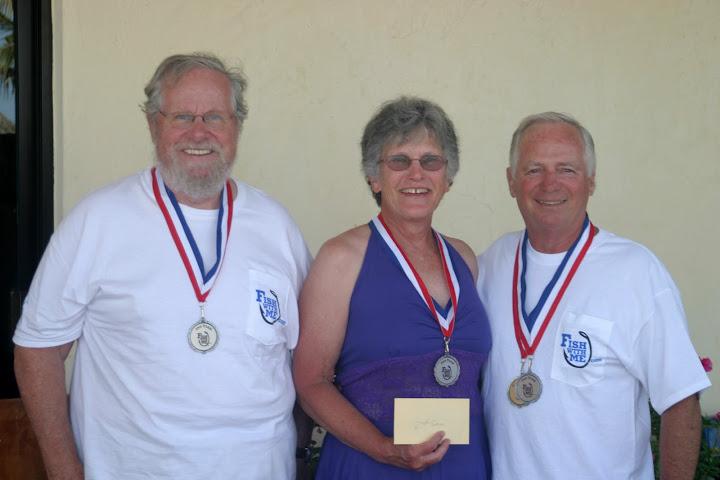 2nd Place Team: Ken & Holly Hoppe Novato, California and Rich Adams, Mariposa, California
