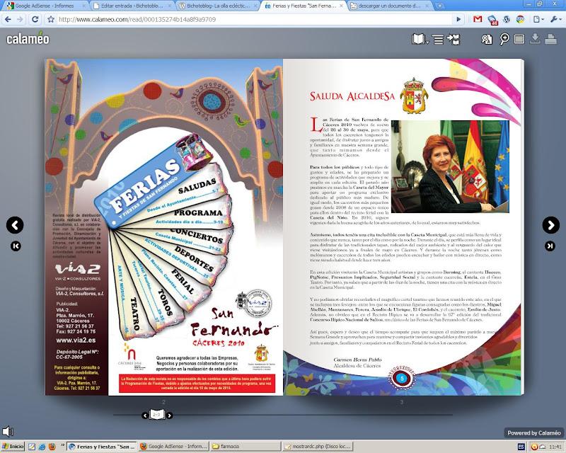 Cartel Feria de Cáceres
