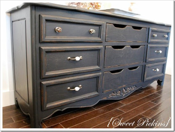 black dresser and teal dresser 013