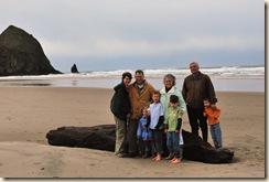 family on beach 2
