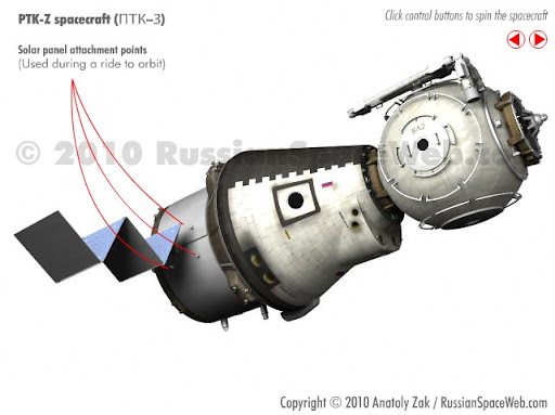 Updates Russia's Advanced Crew Transportation System's ...