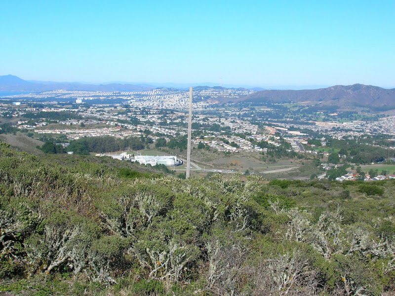 Daly City and San Bruno Mountain