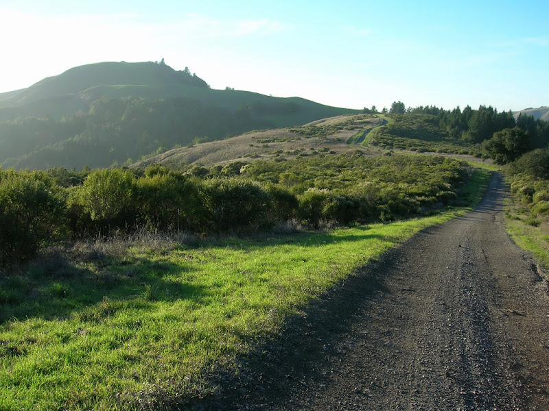 Mindego Hill from the trail