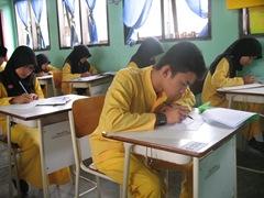 Ujian Semester Ganjil TP 2010 di SMAN Pintar 6