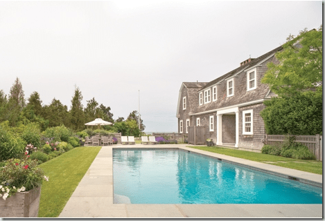 the estate of things chooses nantucket house pool