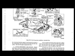Kaiser Frazer 1947 1948 1949 Service Manual 350 Pages