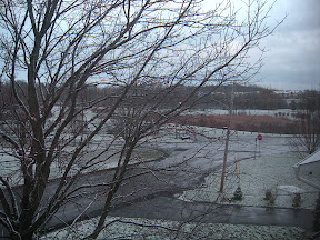 snow on 12/1/09