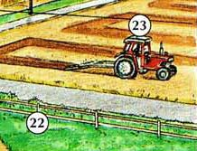 22. ffens 23. tractor