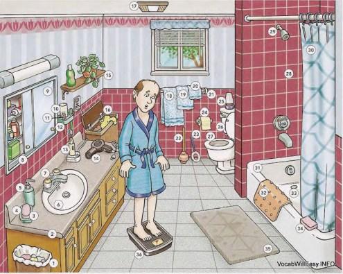 Picture Dictionary/place/salle de bain