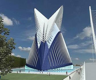 Puente de l'Assut de l'Or Santiago Calatrava