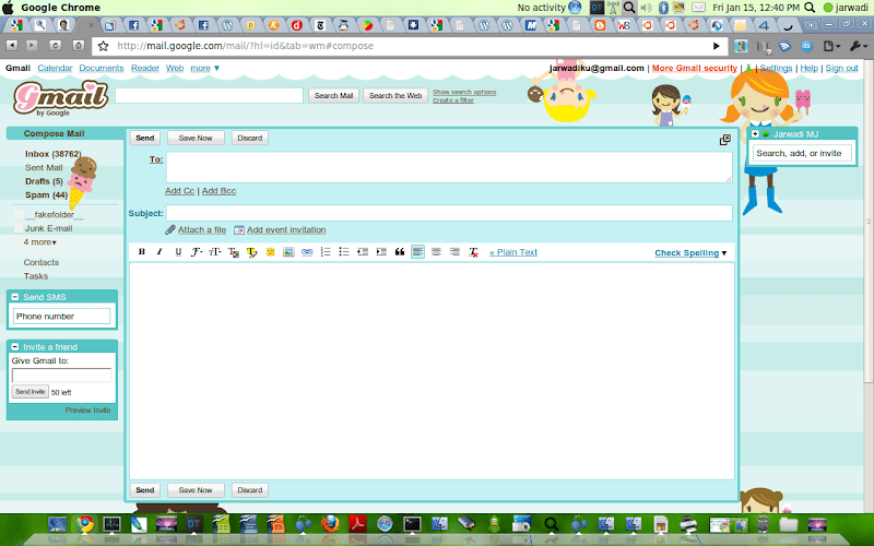 My New Gmail Theme