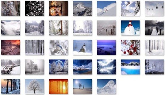 Download Free Winter Windows 7 Theme 1