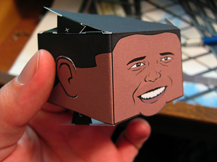 Obamas head coming together