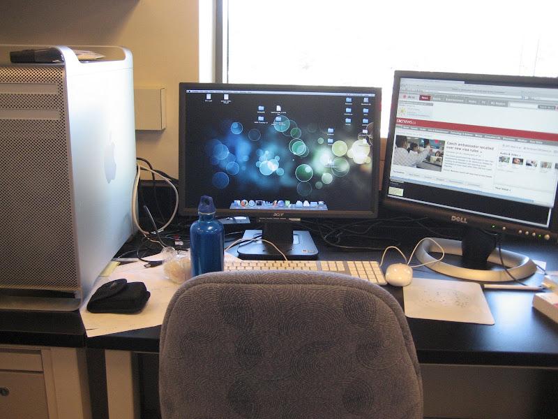 Mac OS X Leopard Desktop