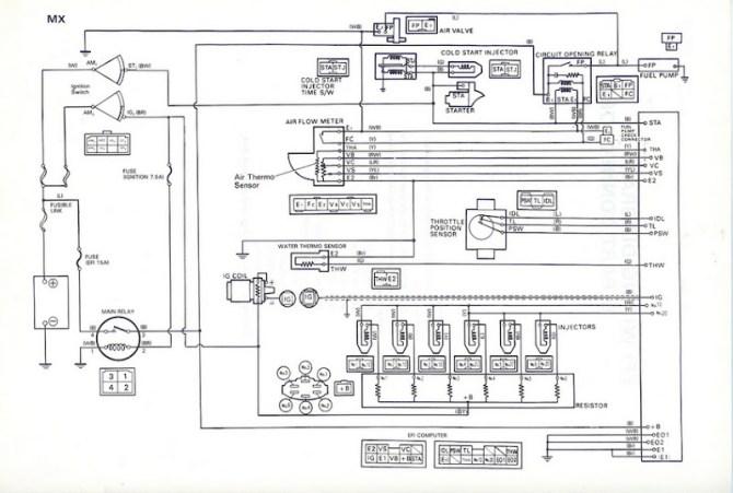toyota 5mge wiring diagram  wiring diagram perform fear