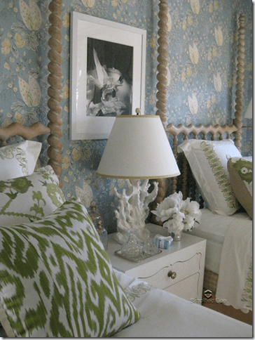 Elle Decor Showhouse Suzanne Tucker Bedroom Twin Beds