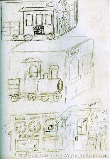 Felt Tent Train Sketches001