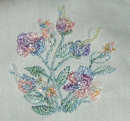brazilian embroidery flowers