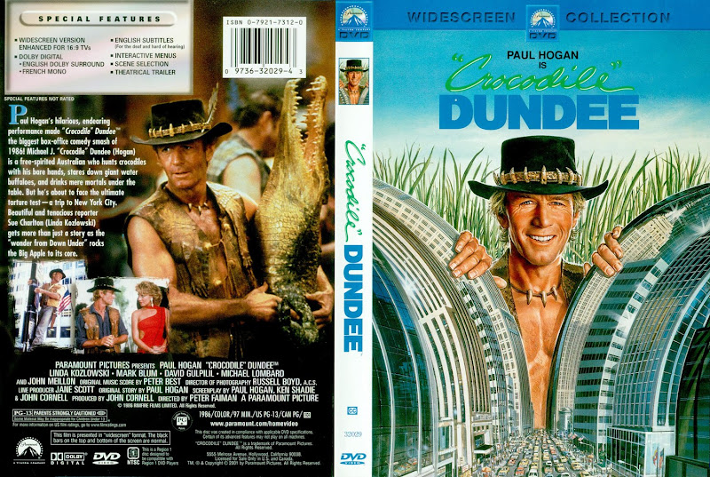 Crocodile Dvd 1986 Cover Dundee