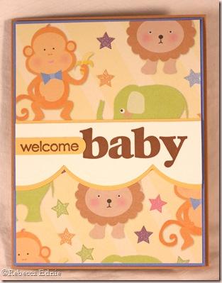 animal welcome baby