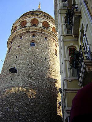 турция истанбул кула галата