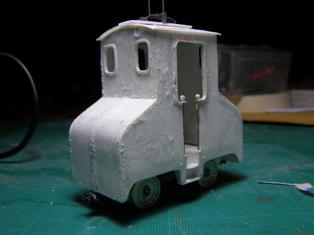 Perforated and glue covered loco