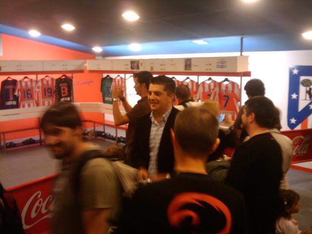 Vestuarios Atletico Madrid
