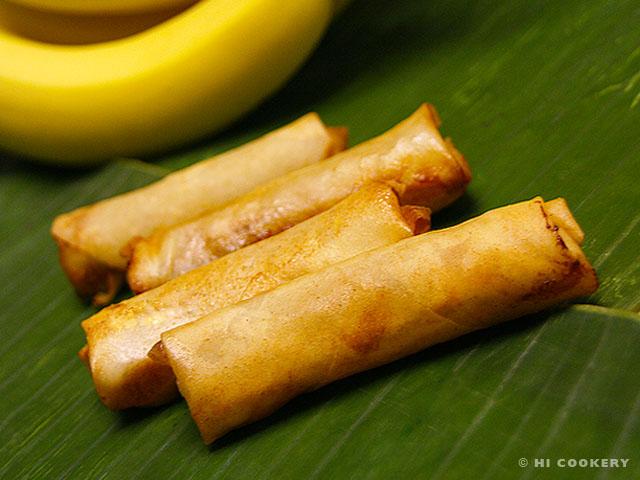 Banana Lumpia