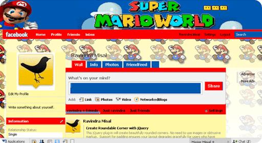 Super-Mario-facebook-theme
