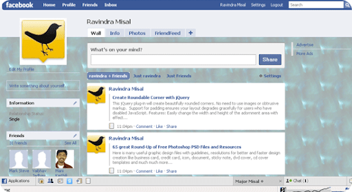 green-rendered-pattern-facebook theme