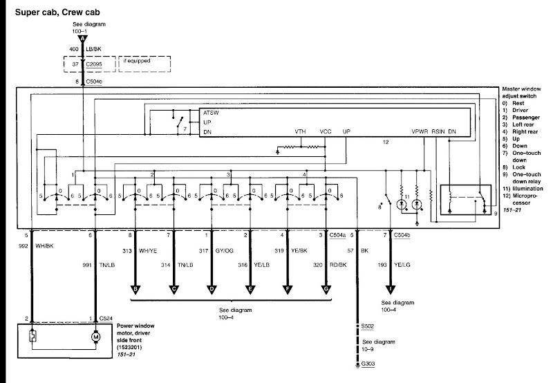 2006 F150 Door Wiring Diagram